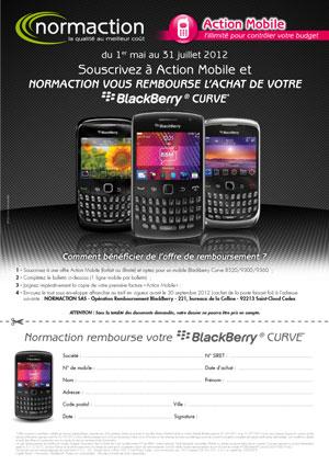 Bulletin ODR BlackBerry